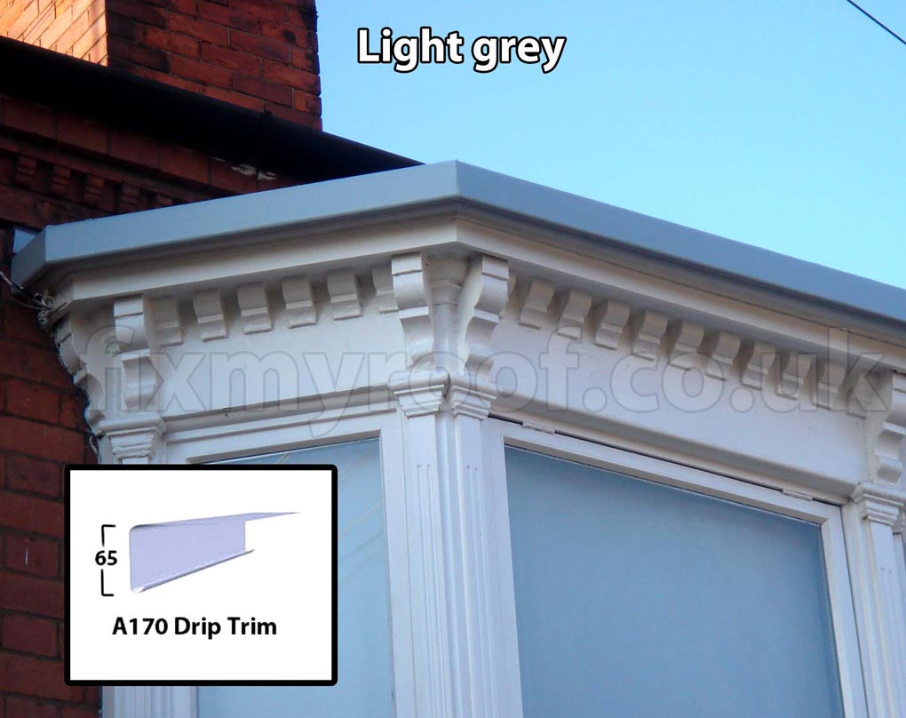 Flat bay windows - Flat Bay Windows Bay Window Are The At195 Ext Trim And The A170 Drip Trim