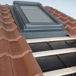 Forticrete low pitched roof window