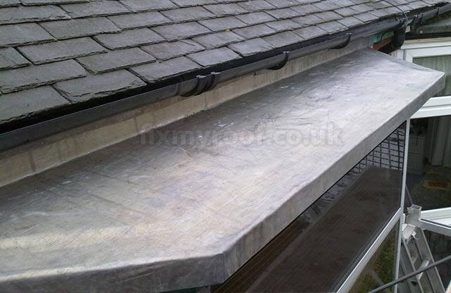 How To Fit A New Lead Roof To A Bay
