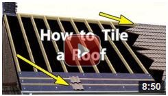 How to tile a roof icon