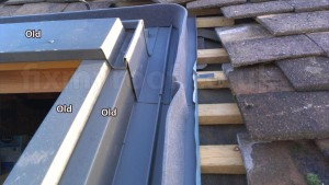 new flashings in old Velux window