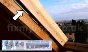 old Velux window height adjustment