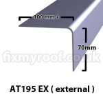AT195ex AT195 ex fibreglass trim roofing sizes size dimensions