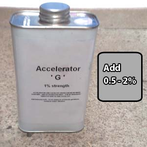 Cold Cure Resin Accelerator G