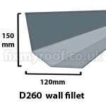 D260 fibreglass drip trim roofing sizes size dimensions