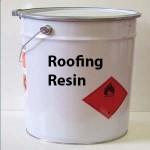 Fibreglass Roofing resin tin tub 20K
