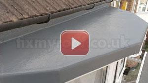 How to fibreglass a bay roof
