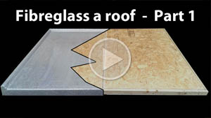 How to fibreglass a grp roof