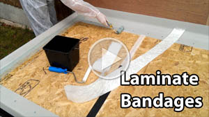 Laminate csm bandages YT