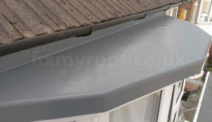 new fibreglass bay roof how to