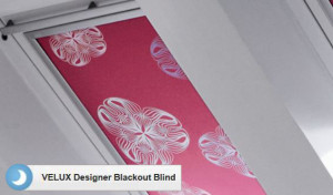 Velux Designer blackout blind