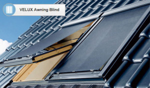 Velux external awning blind