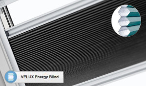 Velux insulation energy thermal blind
