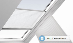 Velux pleated blind blinds