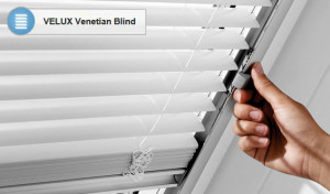 Velux venetian blind blinds