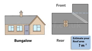 Bungalow roof plan calculator