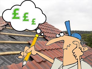 Roofing prices man