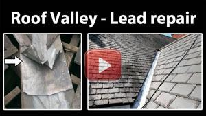 Lead valley repair