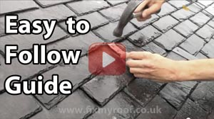 Slate roof repair how to replace a slate