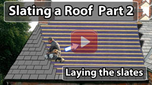 How to lay slates video
