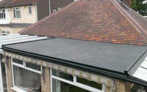 epdm rubber roof install