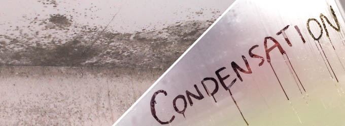 Cure condensation stop mould