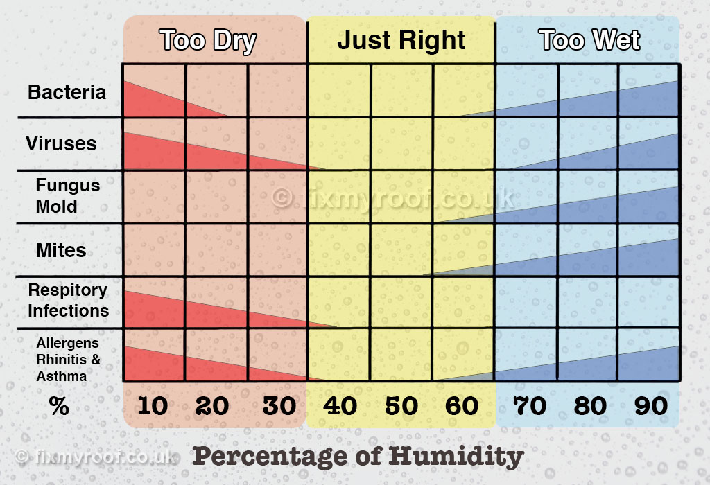 Good Humidity Level For Bedroom In Winter
