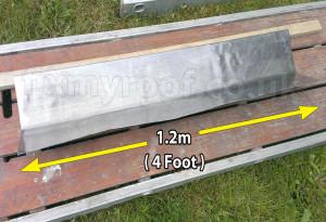 lead flashing length