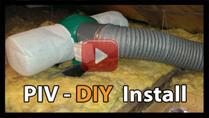 How to install piv unit