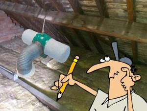 Piv in loft space