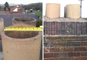 Chimney pot dimension cowl