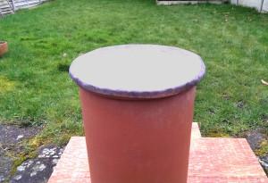 DIY make a chimney cap