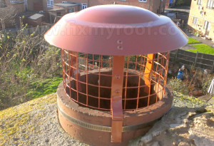 Multi fuel chimney cowl