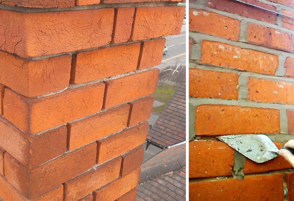 Repointing A Chimney : Chimneys common chimney parts terminology and