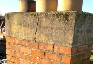 concrete chimney top