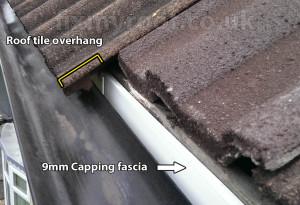roof tile overhang fascia