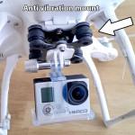 DJI Phantom anti vibration jello mount
