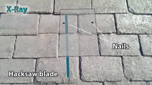 How to change a hanging slate