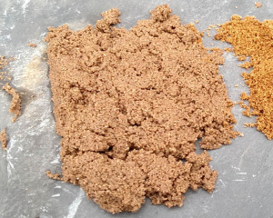 Harsh washed building sand