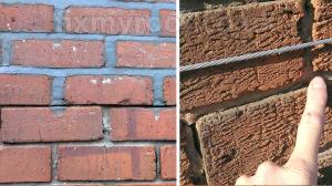 Pointing depth brick work