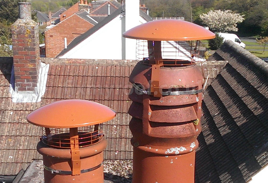 Cost Of Fitting Multi Purpose Chimney Cowls To Stop Birds