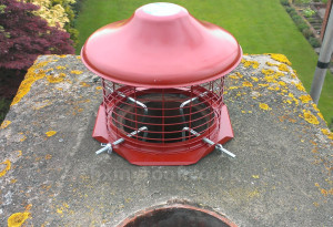 Hook fix or clamping chimney cowl