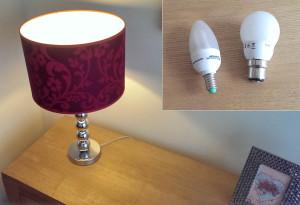 Energy saving lamp bulbs
