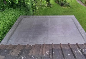 Asphalt roof repair