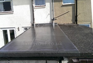 Concrete roof repair