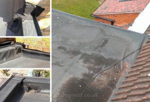 Rubber roof repair EPDM
