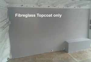 Fibrebglass GRP van interior