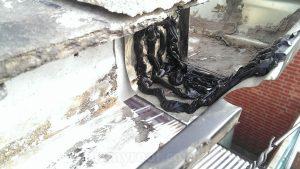 Continuous Aluminium gutter repair