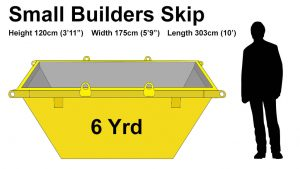 6 Yard skip price & size
