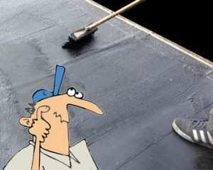 Bitumen Roof Paint - How To Waterproof Your Flat Roof